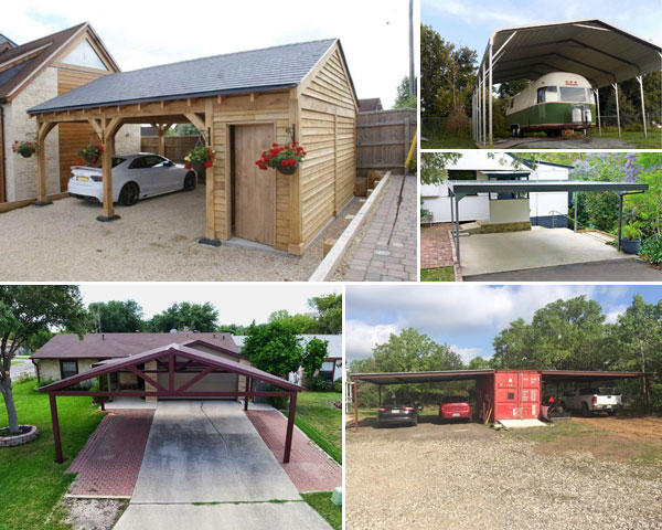 15 Clever DIY Carport Ideas