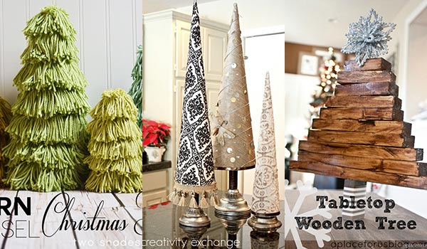24 Best DIY Tabletop Christmas Tree Ideas In 2020