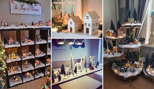 Best 17 Christmas Village Display Ideas