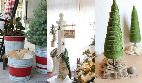 24 DIY Farmhouse Christmas Decoration and Crafts