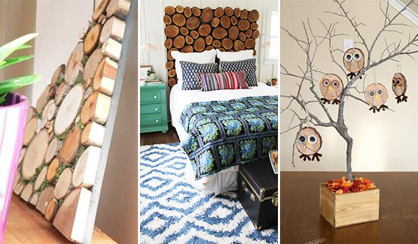 17 Ingenious Projects with Sliced Logs