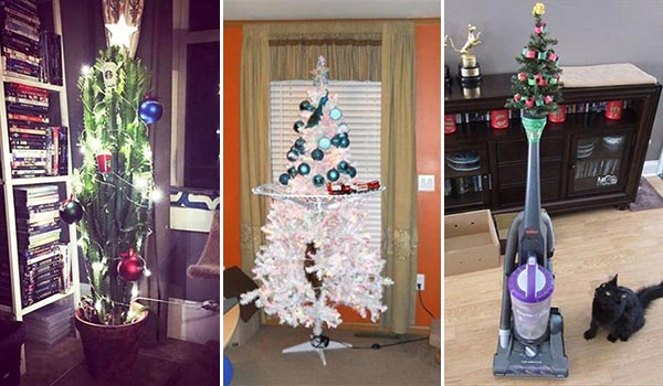 20 Funny Ideas to Protect Your Christmas Tree From Your Pets