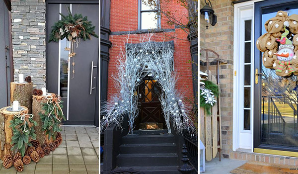 15 Christmas Decorating Ideas For Your Entrance