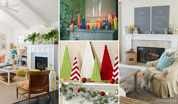 17 Incredible Ideas To Decorate Your Fireplace Mantel