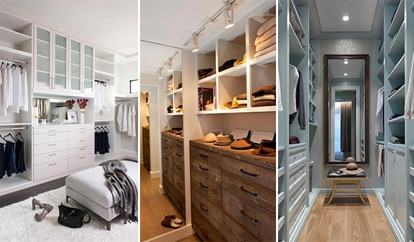 15 Inspiration Ideas For Your Dreamed Walk-in Closet