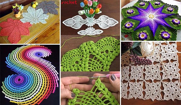 17 Fun Crochet Table Runner Ideas With Free Patterns