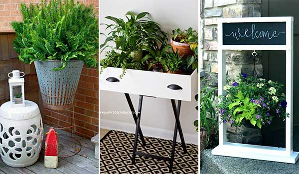 Top 26 Creative DIY Plant Stand Ideas and Tutorials