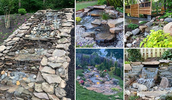 17 Cool Pondless Disappearing Waterfalls for Your Backyard