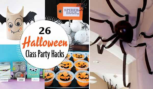 26 Simple, Fun, and Amusing Hacks to Make Halloween Class Party Crazy