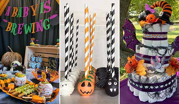 20 Creative Halloween Ideas for a Great Baby Shower
